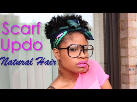 natural - Super quick and fab scarf updo! FLEXI ROD TUTORIAL: http://www.youtube.com/watch?v=jgfp1S3g6bI SUMMER LOOKBOOK: http://www.youtube.com/watch?v=5p4zXU... INST...