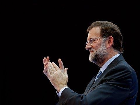 Mariano Rajoy en la reunión de la IDC en Roma