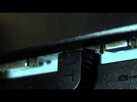 How to Use HDMI & Audio Input in an Acer Monitor : Audio & Sound