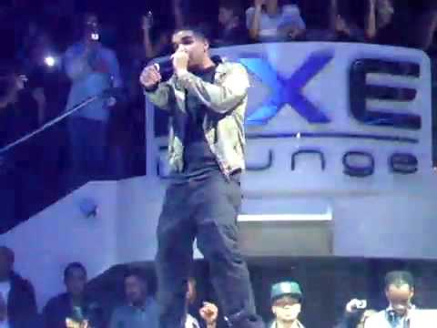 Drake Performing At AXE Lounge at LIV For Superbowl