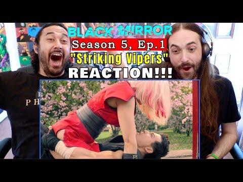 "BLACK MIRROR | Season 5 Episode 1 | REACTION!!! ""Striking Vipers"""