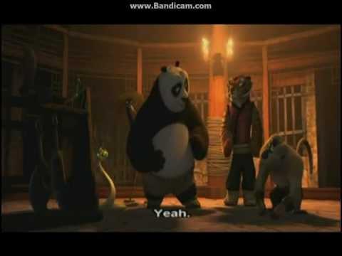 Kung Fu Panda 2- Tigress Hugs Po