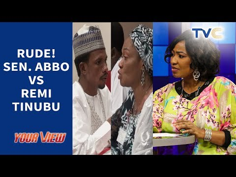 Between Senator Elisha Abbo And Remi Tinubu: Who Was Rude?