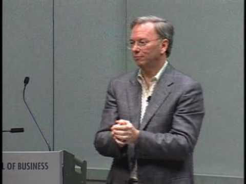 [Video-Eric Schmidt of Google: Change Creates Opportunity]