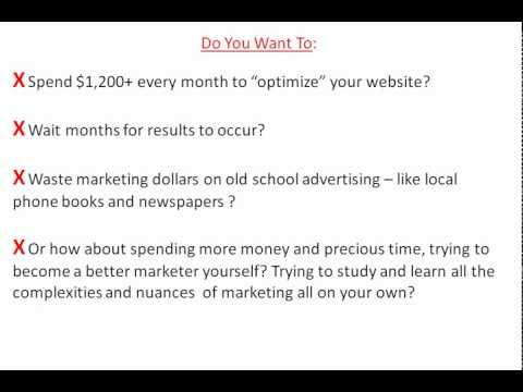 Watch 'How To Market Your Small Business Online Locally? Local Internet Marketing Tips For Lead Generation. - YouTube'