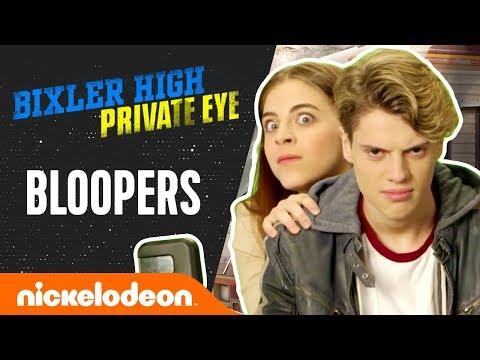 "Funniest Bloopers & BTS Ft. Jace Norman & ""Baby Ariel"" Martin   Bixler High Private Eye   Nick"