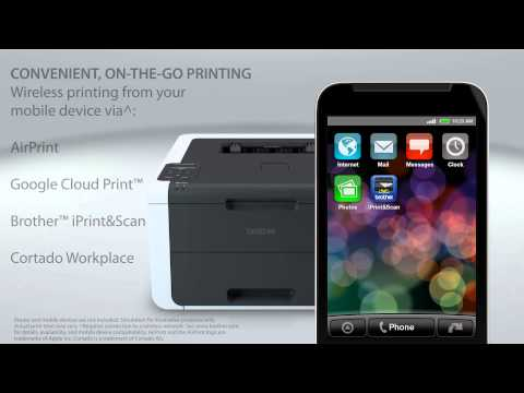 Brother™ Digital Color Printer with Wireless Networking and Duplex | HL-3170cdw