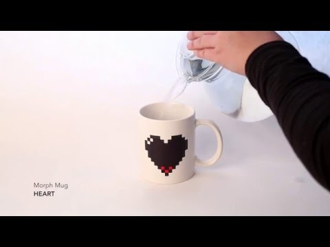 Kaffeebecher MORPH MUG HEART Video