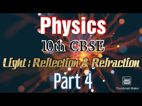 PART4/Light : Reflection and Refraction/10th/CBSE/physics/In Malayalam