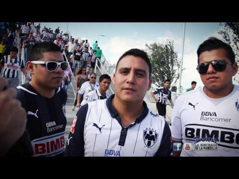 LA HINCHADA DE LA PANDILLA partido Mty vs C. Azul - La Adicción - Monterrey