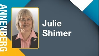 Julie Shimer: Annenberg Leadership And Management Speaker Series