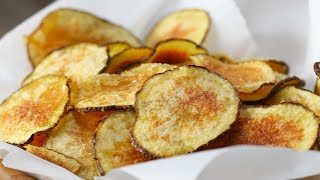 Easy Microwave Potato Chips by Tasty
