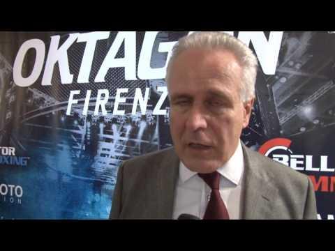 conferenza stampa Oktagon Firenze - 7 Dicembre