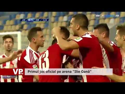 """Primul joc oficial pe arena """"Ilie Oană"""""""