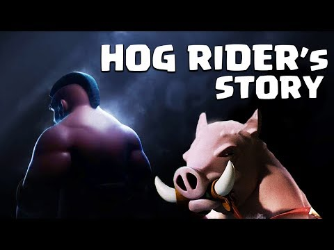 How The Hog Rider Met His Hog! - The Hog Rider's Story | Clash Of Clans Story (CoC Story)
