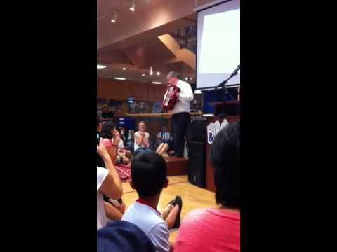 Daniel Handler Dances The Carioca