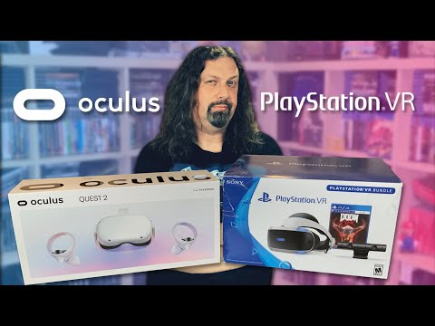 Oculus Quest 2 vs Playstation VR - Which is BETTER?