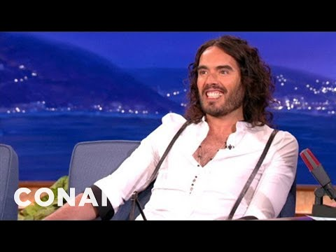 Russell Brand Is Hot For Jennifer Lawrence – CONAN on TBS