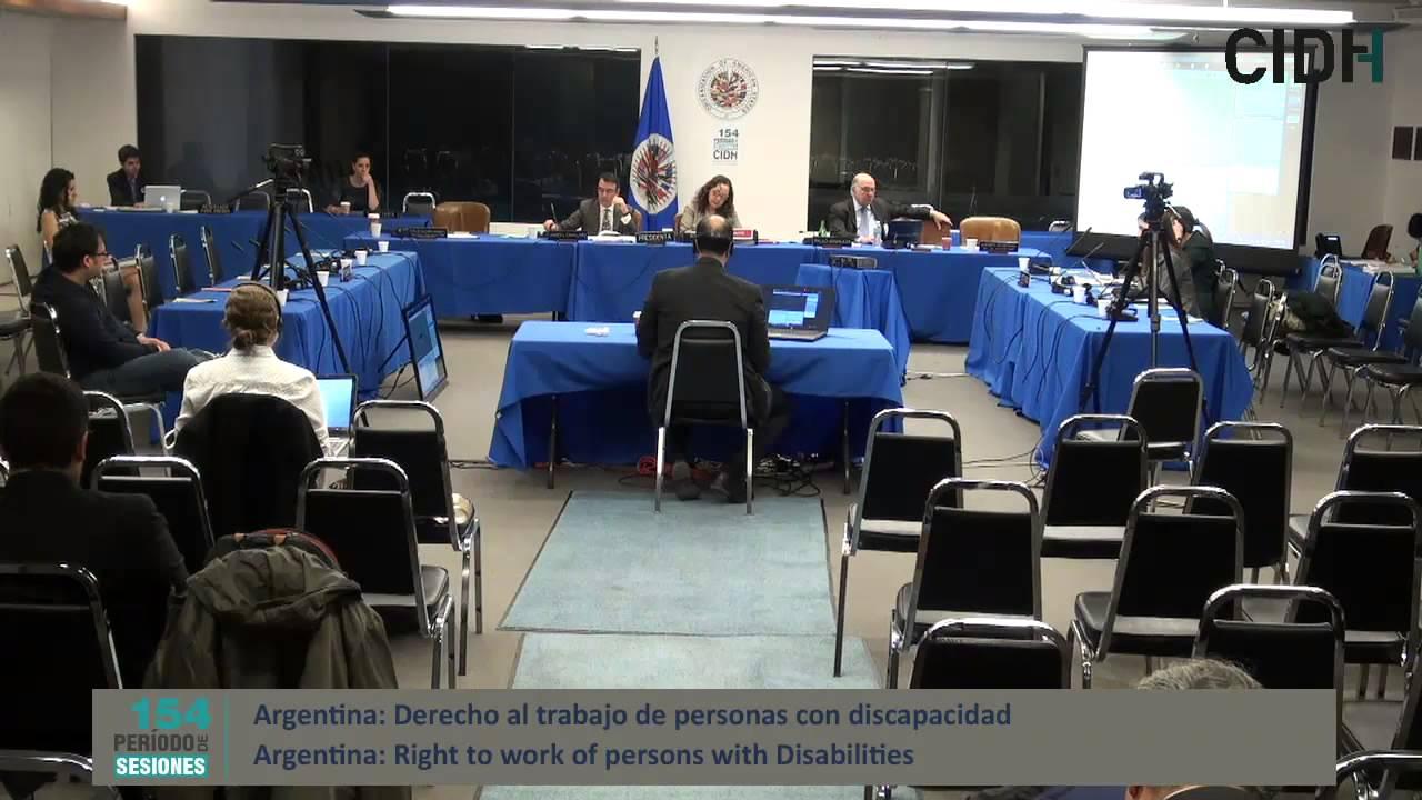 Situaci�n del derecho al trabajo de las personas con discapacidad en Tucum�n, Argentina