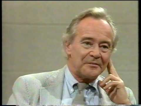 Jack Lemmon.Great Interview  with special guest star Walter Matthau Part 1