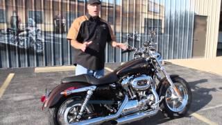 2. 2013 Harley-Davidson Sporster 1200 Custom 110th Anniversay Edition