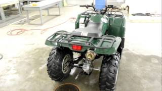 6. 2007 yamaha grizzly 350 running video