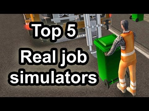 Life Simulation - We take a look at the Top Five real life simulator games that could prepare you for a profession in production or community service. Music by: http://www.you...