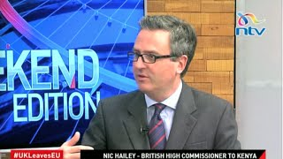 British High Commissioner to Kenya talks on the UK-EU exit vote