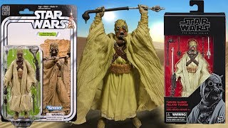 This is a review of the Star Wars: 40th Anniversary: Sand People 6 inch action figure and the Star Wars: The Black Series: Tusken Raider 6 inch action figure made by Hasbro.