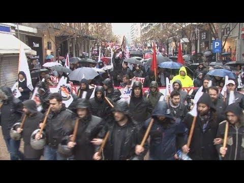 Συγκέντρωση διαμαρτυρίας και πορεία στο ΥΜΑΘ από το ΠΑΜΕ