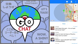 Pokemon Go Chat is BACK LIVE! by Pokémon GO Gameplay