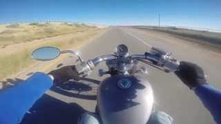 6. 1988 Honda Shadow VLX 600 Ride Top Speed GoPro
