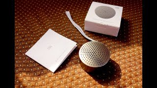 Xiaomi Mi Bluetooth Speaker Mini review with sound quality test (best budget Bluetooth speaker)