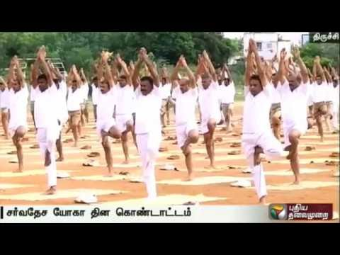 International-Yoga-day-commemorated-at-Trichy--Report-from-our-correspondent