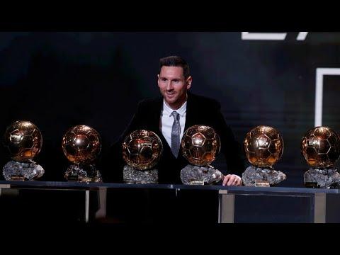 Messi, Rapinoe take Ballon d'Or for world's best footballers 2019