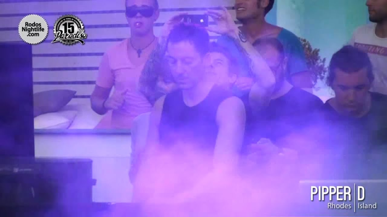Carlo Lio, Dubfire and Nick Varon - Live @ Paradiso Beach Club, Rhodes Island, Greece 2012