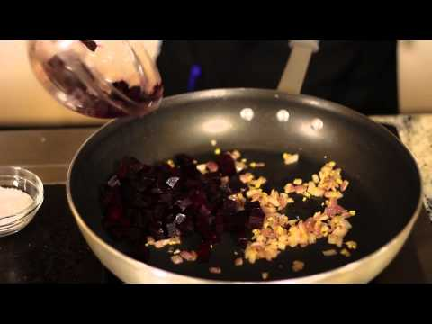 Carrot Puree & Gingered Beets : Healthy & Low-Fat Recipes