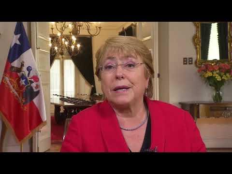 """Presidenta Bachelet: """"Como Gobierno, los problemas de los migrantes nos importan"""""""