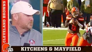 Freddie Kitchens on Baker Mayfield's 2018 NFL Combine Performance   Cleveland Browns