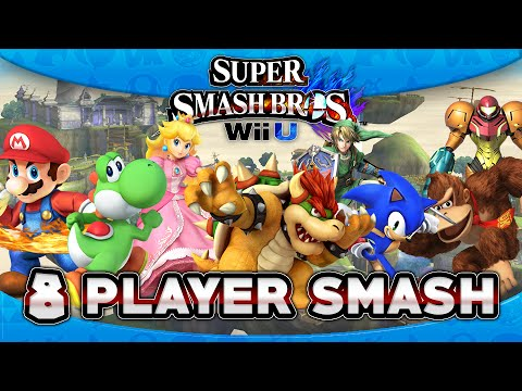 Super Smash Bros. Wii U: First Impressions - 8 Player Smash!