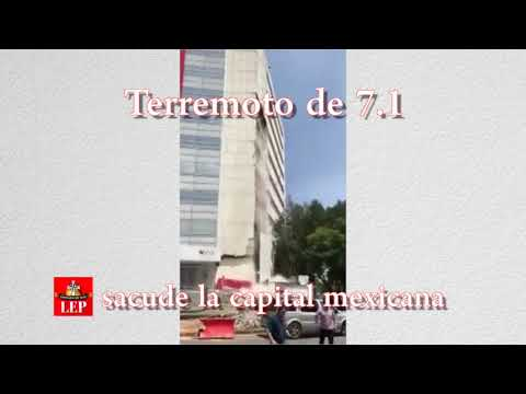 Pánico en México por fuerte terremoto que sacude la capital