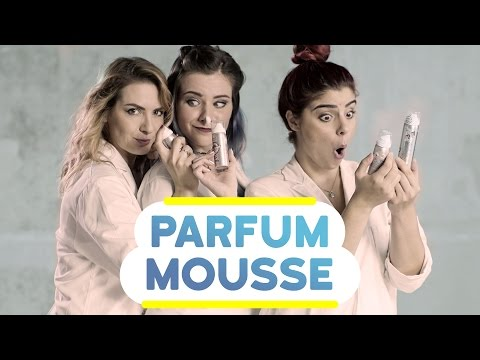 Test du PARFUM EN MOUSSE avec les SERIAL TESTEUSES ! (avec Kihou, Pastel & Estelle)