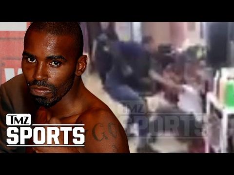 Why Did Boxer Yusaf Mack Fight A Twitter Troll? | TMZ Sports (видео)