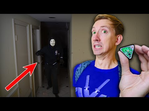 HACKER TRAPPED ME with Tracking Device in House & Escape through Secret Tunnel