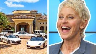 Video Ellen DeGeneres is Richer Than You Think... MP3, 3GP, MP4, WEBM, AVI, FLV Desember 2018
