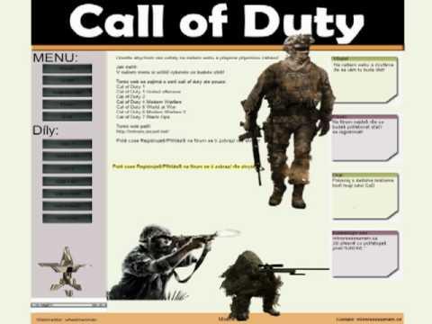 CallofDutyWeB.XF.cz Vše o Call of Duty