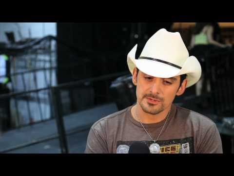 Brad Paisley Backstage at ACM Presents: Brooks&Dunn The Last Rodeo