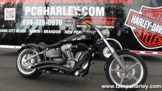 3. 2009 Harley Davidson FXCW Softail Rocker Used Motorcycles for sale