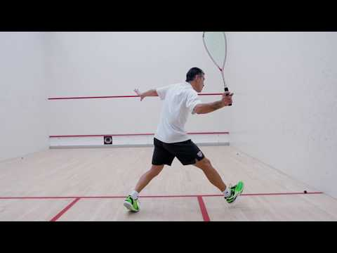 Squash tips: Lateral movement with Thierry Lincou