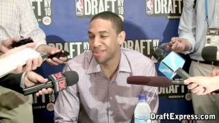 Xavier Henry - 2010 NBA Draft Media Day - DraftExpress